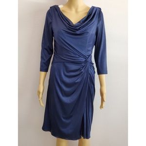 Adriana Papell Blue Dress Size 6